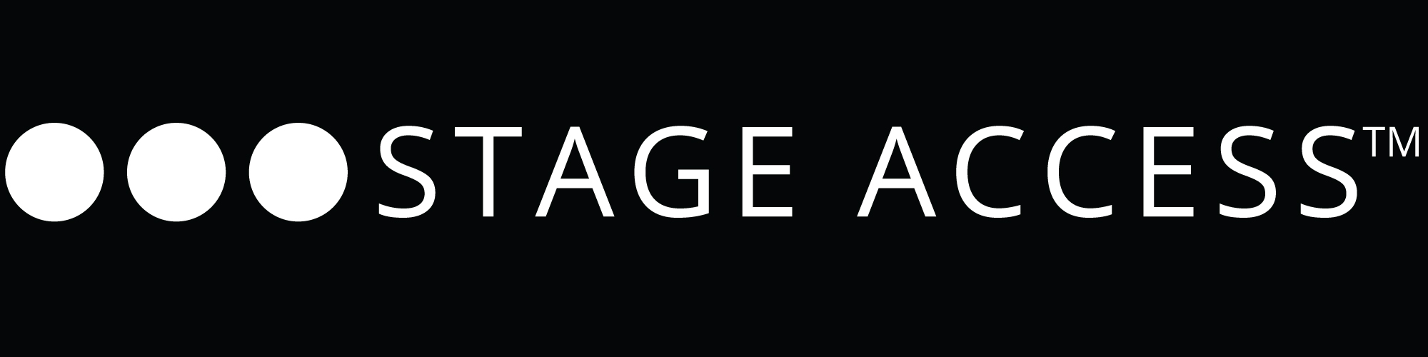 stage access logo